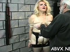 Nude Woman Flogging Video With Bondage