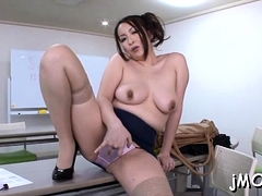 Luxurious mature exotic Aoi Aoyama deepthroats a big shlong