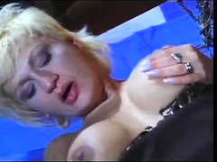 Classy Vintage Dyke Ladies Making Out In Sexy Lingerie