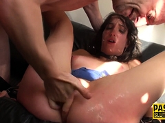 Spanked Submissive Plowed
