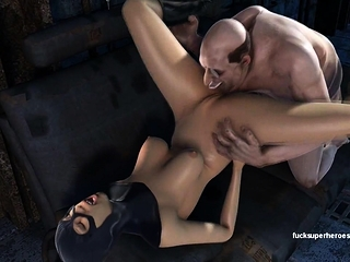 Hentai blonde gives head