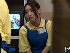 Japanese Feels Slutty And Likes Flashing Her Bawdy Cleft