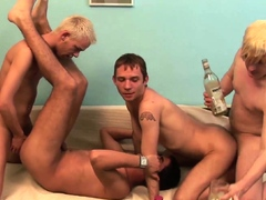 REALMENFUCK Gay European Amateurs Anal Breed In Wild Group
