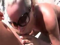 Slut Doing It Doggystyle At The Beach