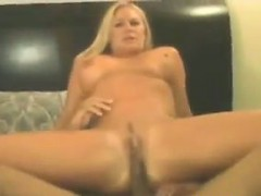 Chubby MILF With Two Black Cocks