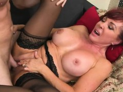 Hot MILF Christina Loves Cum On Her Face