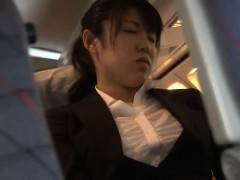 Officelady groped in Airliner
