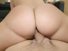 Large weenie for a hairy tight pussy