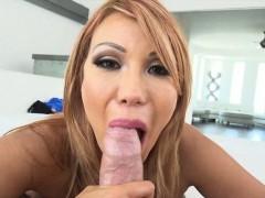 Big tits milf Ava Devine deepthroats and anal screwed up