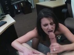 The customer's wife wants the pawnman's D to sucked on